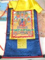 Of qingzang . buddha thangka bronzier small thangka
