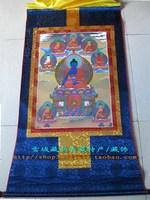 Buddha thangka exquisite thangka 90cm .