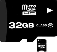 Wholesale - Manufacturer 32GB MicroSD class 4 6 10 micro SD HC MICROSDHC TF Flash Memory Card Real Capacity + SD adapter