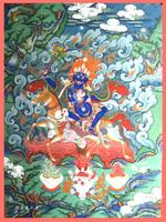 Tibetan thangka -