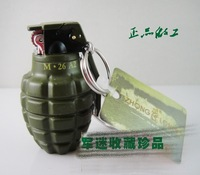 2pcs 2015 new free shipping Flame lighter  creative gifts Military lighters lighters mines Personalized lighters Grenades
