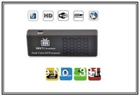 MK808 Android 4.1 TV Box With RK3066 Dual Core 1.6GHz 1GB RAM 8GB ROM WiFi HDMI OTG 1080P Mini PC Android HD Players