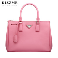 Kizzme 4ol bag fashion cross cowhide handbag bag female bags spy
