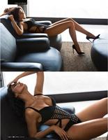 2012 new arrival HL bandage bikini women's sexy swimsuit black bikini high quality wholesale