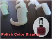 50 PCS Nail Art Ring Style Nail Tips Polish UV Gel Colour Pops Display