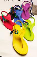 2013 all-match brief flip-flop sandals flat ultra soft rubber women's shoes sandals comfortable summer sandals