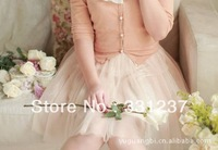 Korean version of the new spring and summer candy colored fantasy spring gauze tutu bust
