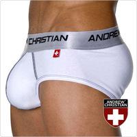 MAN STORE  Andrew C  AC three-dimensional u cup male trigonometric panties  cotton underwear autumn  men's underwear