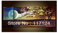 Free Shipping !! High Quality Guaranteed Wall Art Home Decoration 100% Hand painted canvas Oil painting #1062