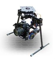 Profession Camera Gimbal W/servos & gyroscope for 5D/7D/D90 SLR Aerial photo