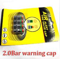 2.0bar Especial 3 Color Eye Alert Visual tire pressure warning cap Tire pressure monitoring cap Detection cap Sensor Indicator