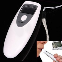 Breath Alcohol Tester Portable Analyzer LCD Digital Alcohol Breathalyzer Breath