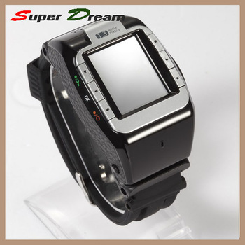 "2013 New 1.3""inch Touch Screen wrist cell&mobile phones watch N388 Tri-band Single Card with MP3 MP4 Bluetooth, Kids and adault"