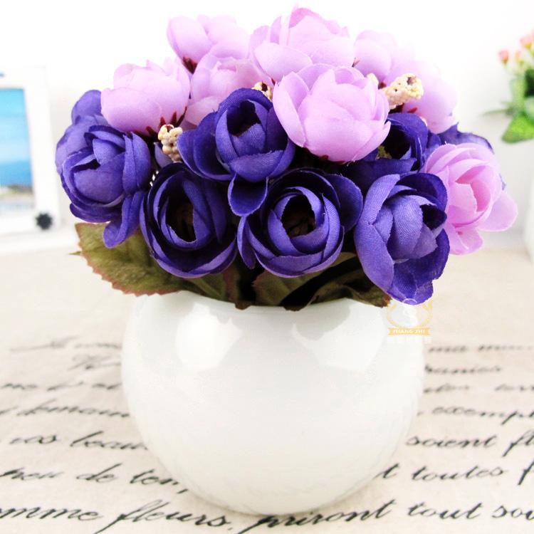 Glass Flower Vase Flower Round Glass Vase