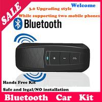 New-Bluetooth Handsfree Speakerphone Car Handsfree Kit With Car Charger Bluetooth Hands free Kit For ALL Mobile Phones