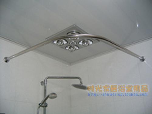... cobre 304 barra de la cortina de ducha curvada de acero inoxidable 90