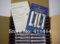 DHL Free Shipping 4000PCS/LOT (4pcs=1packs) Neutral package EB17-4 SB-17A  ELECTRIC TOOTHBRUSH HEADS  4 Soft Bristles