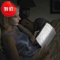 2013 New fashion Lamp flat Panel study reading light 3 LED night vision 3led big size 148 x 176 mm(L*W)  for all the books