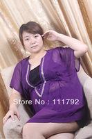 v-neck chiffon dress sexy sequined dress big yards fashion blouse bat shirt Casual Dress Specials