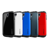 Latest style SLIM ARMOR SPIGEN SGP case for Samsung galaxy s4 SIV i9500 most countrise DHL shipping free 50pcs/lot