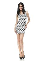 FREE SHIPPING Skirts Women 2013 Fashion Walker TQ024 High Flexible Camel Printed Slim Vest Skirts Plus Size Wholesale