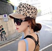 Free shipping Female hat personalized leopard print baseball cap hat xiaxin women's