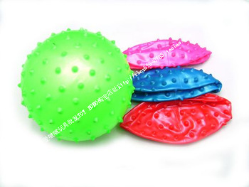 Hot wholesale Night market inflatable ball toy belt massage ball child baby gift  free shipping