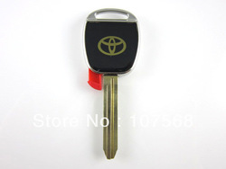 Toyota Chip Transponder Key Shell case Blank toy43 key blade(China (Mainland))