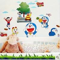 Extra Large Three Generations DORAEMON Child  Baby Room Wall Sticker e