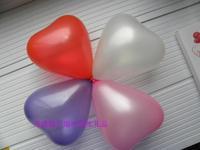 Wedding supplies heart pearl balloon wedding balloon love balloon Small 50 bag  10pcs/set