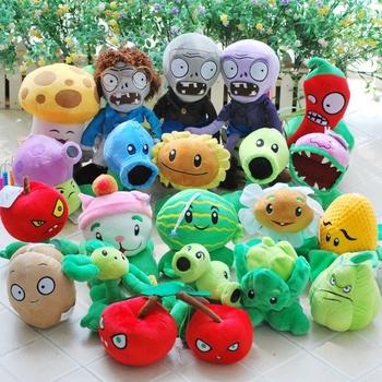 freeshipping stuffed Plants vs Zombies PVZ MINI Soft Plush Toy Doll original toys for children