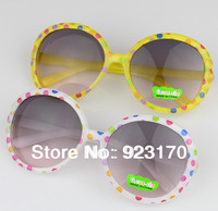 Free shipping wholesale cheap 2013 fashion baby children's sunglasses