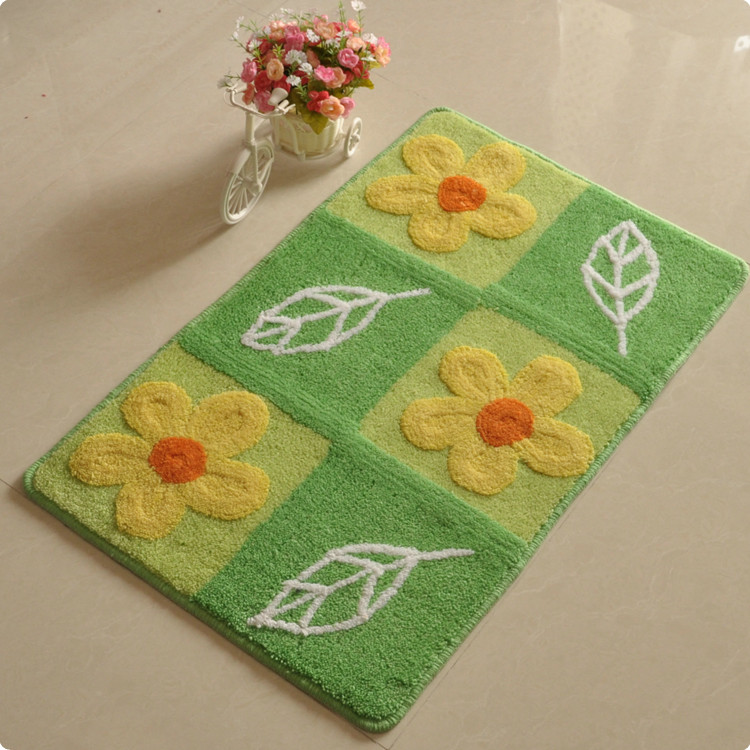 Mats doormat mat carpet entrance sanitary pads 50 80cm slip-resistant mats(China (Mainland))