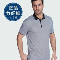 free shipping Bamboo fibre t-shirt male men's clothing gift summer quinquagenarian male t-shirt short-sleeve