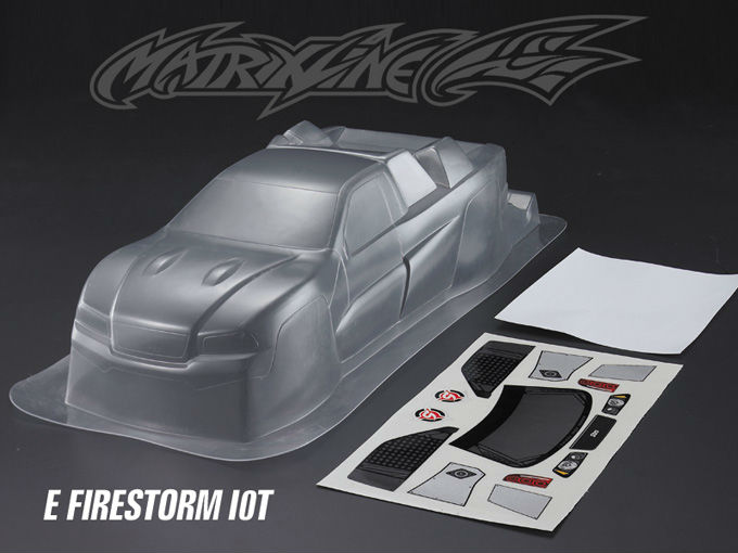 Stm-racing E FIRESTORM 10T TRUCK PC BODY SHELL PC201015 1:10Truck(China (Mainland))