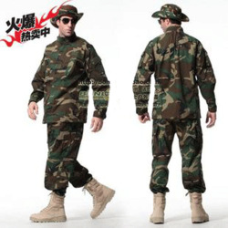 American special forces the jungle camouflage field service training training suit combat uniform Free shipping(China (Mainland))