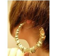Ultralarge 9 tspj gold earrings rihanna fashion exaggerated earrings fashion big earrings earring