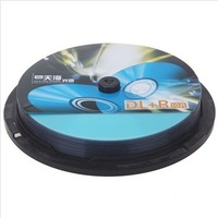 High quality A+ Blank DVD+R,UNIS Double Layer ,Blank disc DVD+R DL ,8X ,8.5G/240min,10pcs/lot,Free shipping