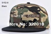 Wholesale 10pcs Blank Men Women Camouflage Baseball Cap Mens Camo Flat Bill Snapback Hat Womens Flat Brim Hats Snap Backs Hat