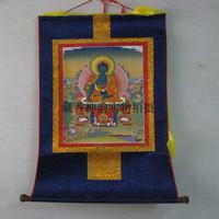 Tibetan buddha thangka bronzier thangka 1.2m 80cm