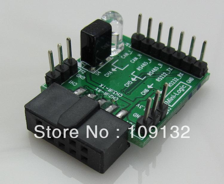 The Mini - Logic signal switching board matching Logic analyzer RS233 RS485(China (Mainland))