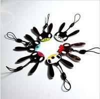 (free shipping CPAM)100Pcs/lot Stars in South Korea bigbang TVXQ EXO FT  SJ  B1A4  BAP head phone rope acrylic accessories