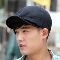 Soft cap male women's unique sun hat 100% all-match cotton lovers cap summer beret
