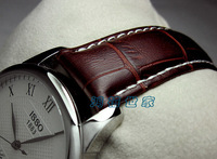 Elegant !Perfect High Quality 18mm20mm22mm watchband brown genuine leather watchband with pin buckle