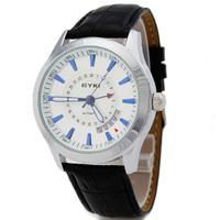 Ikey eyki fully-automatic mechanical watch strap mens watch calendar luminous pointer table 8532