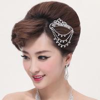 Love the bride the bride accessories the bride hair accessory the bride hair accessory insert comb small
