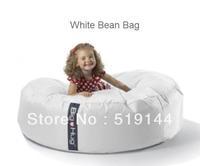 Free shipping The original Island design WHITE HAPPY CHAIR, round huddle beanbag chair,big bean bag sitting relax cushion