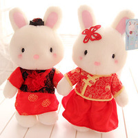 Free shipping, The Tang suit  wedding dress yarn  plush toy /stuffed toys,wedding gift