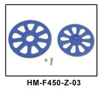 Walkera V450D03 spare parts HM-F450-Z-03 Main Gear Set