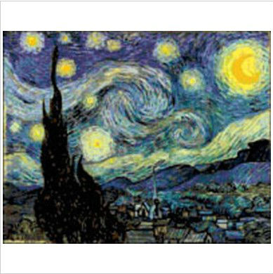 Top Quality Counted Cross Stitch Kits Free Shipping Evening Sky Star Oil Painting(China (Mainland))